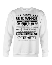 Perfektes Geschenk fur Ihren geliebten Mensche Crewneck Sweatshirt thumbnail