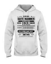 Perfektes Geschenk fur Ihren geliebten Mensche Hooded Sweatshirt thumbnail