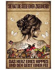 Das Herz eines Hippies AH231 11x17 Poster front