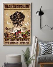 Das Herz eines Hippies AH231 11x17 Poster lifestyle-poster-1