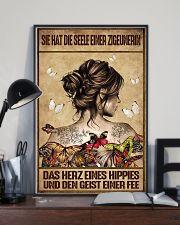 Das Herz eines Hippies AH231 11x17 Poster lifestyle-poster-2