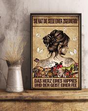Das Herz eines Hippies AH231 11x17 Poster lifestyle-poster-3