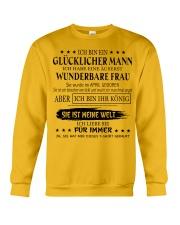 I'm a lucky man W - T04 April Crewneck Sweatshirt thumbnail