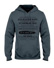 I'm a lucky man W - T04 April Hooded Sweatshirt thumbnail
