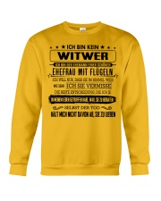 I'm not a widower i'm a husband to a wife wings Crewneck Sweatshirt thumbnail