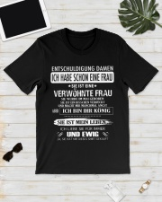 She is a bad wife 5 Premium Fit Mens Tee lifestyle-mens-crewneck-front-17