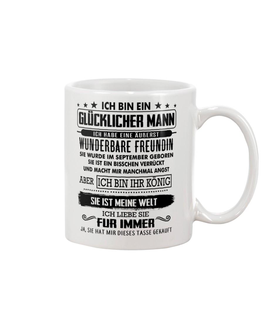 Geschenk fur Freundin T09 September Mug