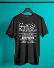Geschenk fur den Sohn - Mutter to Sohn- black Classic T-Shirt lifestyle-mens-crewneck-front-3