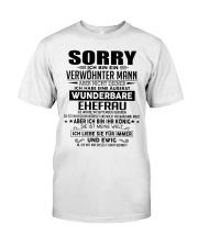 Wenderbare Ehefrau 09 Classic T-Shirt front
