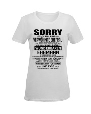 Wunderbaren Ehemann 10 Ladies T-Shirt women-premium-crewneck-shirt-front
