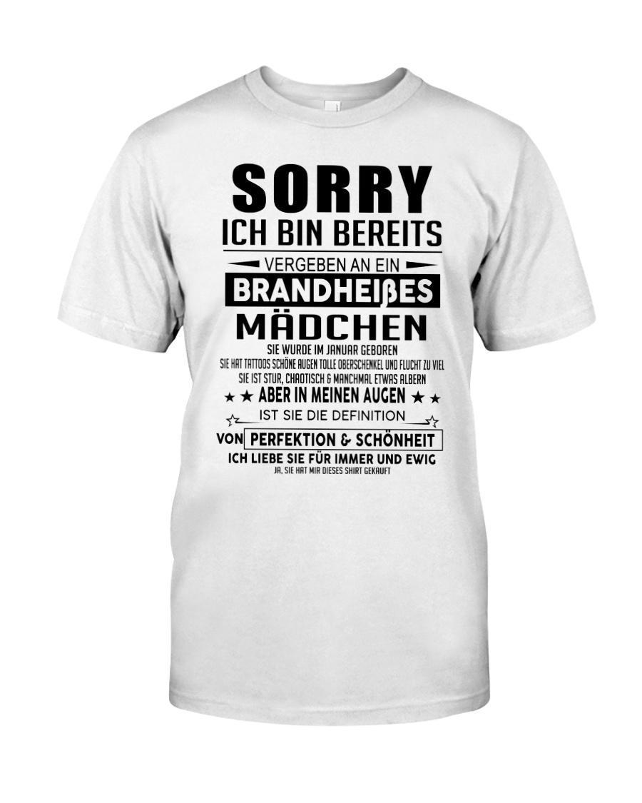 Perfektes Geschenk fur die Liebsten AH001 Classic T-Shirt