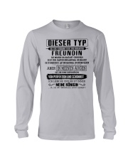 Gift for your boyfrend CTD08 Long Sleeve Tee thumbnail