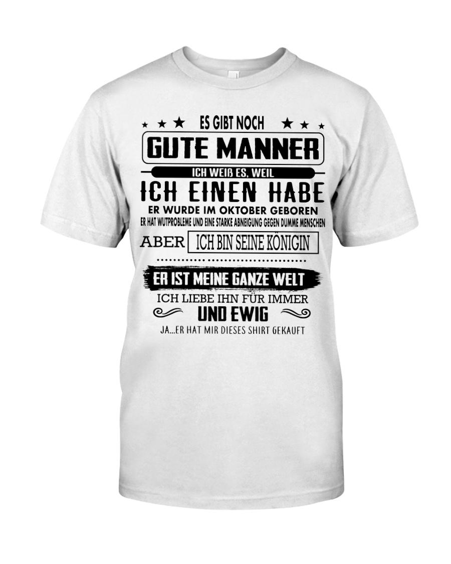 Perfektes Geschenk fur Ihren geliebten Mensche-10 Classic T-Shirt