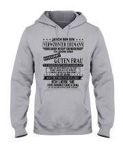 Verwohnter Mann - T0 Hooded Sweatshirt front