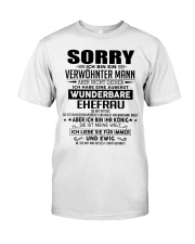 SORRY - MANN TATTOOS Classic T-Shirt front