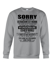 SORRY - MANN TATTOOS Crewneck Sweatshirt thumbnail