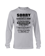 SORRY - MANN TATTOOS Long Sleeve Tee thumbnail