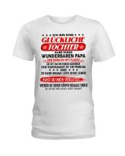 Geschenk fur die Tochter - C010 Oktober Ladies T-Shirt front