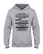Verwohnter Mann - T11 November Hooded Sweatshirt front