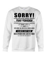Perfektes Geschenk für Ehemann Crewneck Sweatshirt thumbnail
