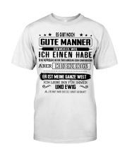 Perfektes Geschenk fur Ihren geliebten Mensche Classic T-Shirt front