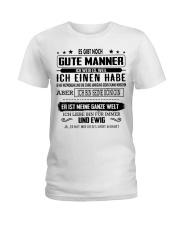 Perfektes Geschenk fur Ihren geliebten Mensche Ladies T-Shirt thumbnail