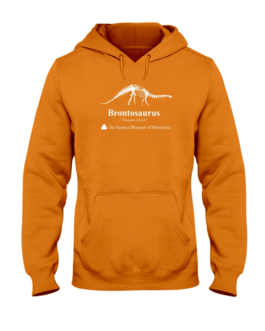 Dinosaur Shirt Hooded Sweatshirt