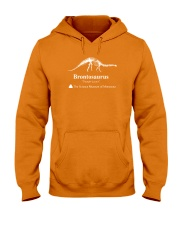 Dinosaur Shirt Hooded Sweatshirt front