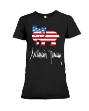 Melania Trump Signature Shirt Premium Fit Ladies Tee thumbnail