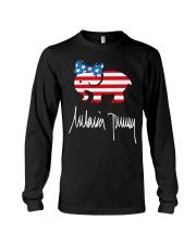 Melania Trump Signature Shirt Long Sleeve Tee thumbnail