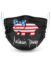 Melania Trump Signature Shirt 2 Layer Face Mask - Single thumbnail