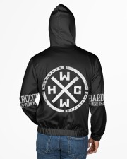 Hardcore Worldwide -All Over Print Full Zip Hoodie Men's All Over Print Full Zip Hoodie aos-complex-men-zip-hoodie-lifestyle-back-02