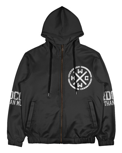Hardcore Worldwide -All Over Print Full Zip Hoodie