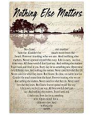 Nothing Else Matter 001 11x17 Poster front