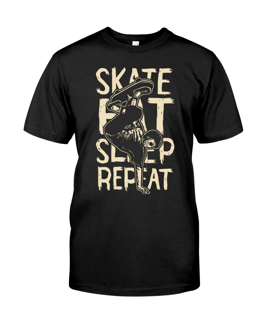 SKATE EAT SLEEP REPEAT Classic T-Shirt