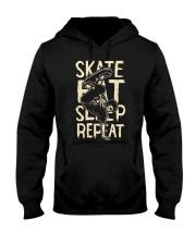 SKATE EAT SLEEP REPEAT Hooded Sweatshirt thumbnail