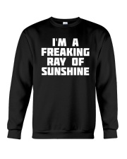 I'm A Freaking Ray Of Sunshine Crewneck Sweatshirt thumbnail