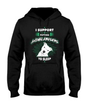 Putting Animal Abusers To Sleep Hooded Sweatshirt thumbnail