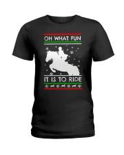 Best Merry Christmas Xmas Thanksgiving Gift Love Ladies T-Shirt thumbnail