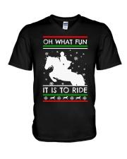 Best Merry Christmas Xmas Thanksgiving Gift Love V-Neck T-Shirt thumbnail