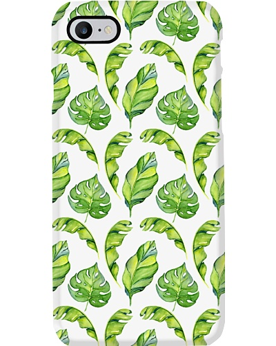 Watercolor Tropical Patterns Phone Case