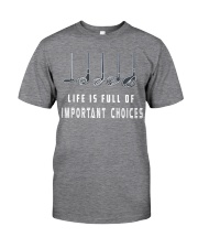 Golf - Life is Full Important Choices Classic T-Shirt thumbnail