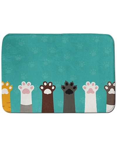 Cute Paws Bath Mat
