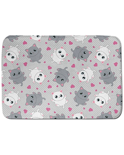 Lovely Cats Bath Mat