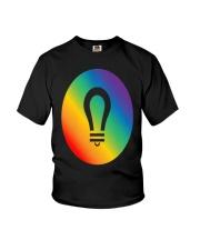 visionary lgbt pride gear Youth T-Shirt thumbnail