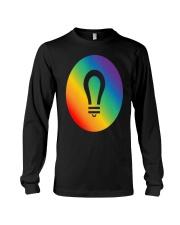 visionary lgbt pride gear Long Sleeve Tee thumbnail