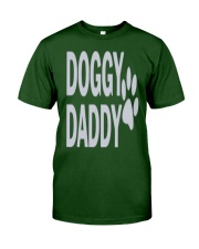 DOGGY-DADDY-FATHERS-DAY Classic T-Shirt front