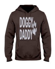 DOGGY-DADDY-FATHERS-DAY Hooded Sweatshirt front