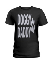 DOGGY-DADDY-FATHERS-DAY Ladies T-Shirt thumbnail