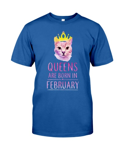 February Queens Cat Are Born In